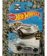 Hot Wheels DC Batmobile 9/250 Batman Series 3/5 CHROME New DC Comics Col... - $3.42