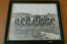 Vintage Notre Dame 1946 Football National Champion Framed Team Photo; QB... - $49.99
