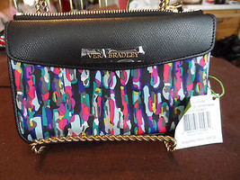 Vera Bradley Envelop Wristlet in Watercolor brushstrokes - $24.50