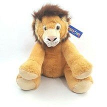 Toys R Us Lion Cat Plush Stuffed Animal 0+ Soft New With Tags - $39.82