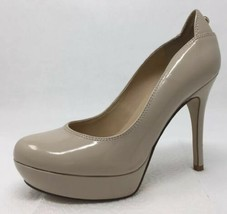 Guess SOPHY Nude Beige Patent Leather Pumps Heels Size 6 - $24.62