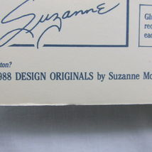 Who's Got the Button 36 Projects New Suzanne McNeill 1988 Original Designs 2034 image 6