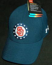 Nwt Under Armour San Diego Padres M/L USA Militaire Freedom 1331368 Ua V... - $19.78