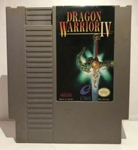 DRAGON WARRIOR IV Nintendo Entertainment System NES 1992 RPG Cartridge Only - $93.95
