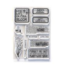 Home and Nature Stamps. Elizabeth Craft Design