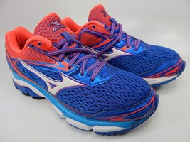 Mizuno Wave Inspire 13 Size 8 M (B) EU 38.5 Women's Running Shoes Blue Pink