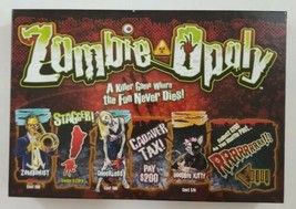 Zombie Opoly Zombie Monopoly Themed Board Game 2012 Late for the Sky  - $24.30