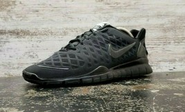 Womens Nike Free Run TR Fit Athletic Shoes SZ 10.5 Used 429785 003 Black - $34.16