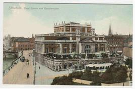 Kongl Operan Operaterrassen Sweden 1910c postcard - $5.94