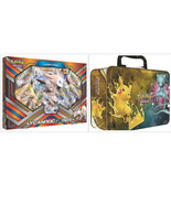 Pokemon Lycanroc GX Collection Box & Shining Legends Collectors Chest Ti... - $54.99