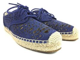 Vince Camuto Dinah Suede Lazer Cut Fashion Sneaker Espadrille Women's Sz 9 M  - $33.37