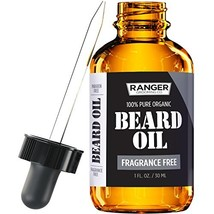Fragrance Free Beard Oil & Leave in Conditioner, 100% Pure Natural for Groomed B