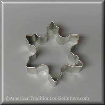 "3"" Snowflake Metal Cookie Cutter #NA1051 - $1.75"