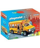 Playmobil City Life School Bus Imaginative Playset #5680 12 Pieces - $31.67