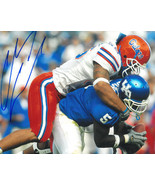 Channing Crowder signed Florida Gators 8x10 Photo (vs Kentucky) - $15.00