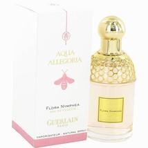 Guerlain Aqua Allegoria Flora Nymphea Perfume 2.5 Oz Eau de Toilette Spray image 2