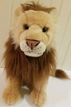 2012 Wild Republic Adult Lion Soft Plush Stuffed Animal Doll Realistic T... - $9.02