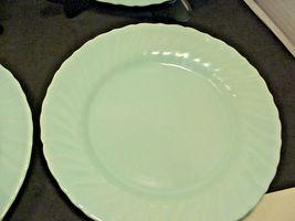 Franciscan Coronado Aqua Matte 4 Luncheon Plates Blue image 4
