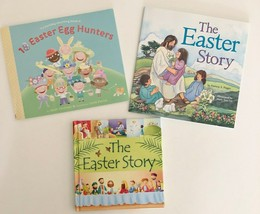 Children's Easter book Set of Three -10 Easter Egg Hunters & The Easter ... - $3.99
