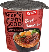 MIKES MIGHTY GOOD Spicy Beef Ramen Cup, 1.8 Ounce - $6.88