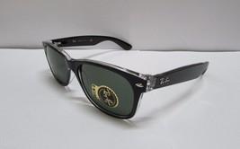 Ray-Ban Sunglasses 2132 6052 Wayfarer Color Mix Black Transparent NEW & ... - $92.99