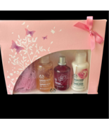 New The Body Shop CASSIS ROSE  Eau De Toilette 30ml Shower Gel Body Loti... - $149.99