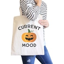 Pumpkin Current Mood Natural Canvas Bags - $14.99