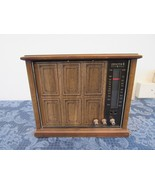 Vtg Wood 1960's Zenith Model A429P AM/FM Radio Solid State  - $29.76
