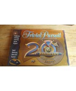 Board Game TRIVIAL PURSUIT 20th Anniversary Edition Sealed Cards Trivia ... - $8.66