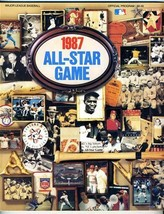 1987 Major League Baseball All Star Game Official Program Oakland - $17.80