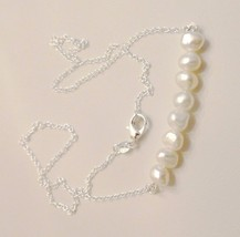 AAA Baroque Freshwater Pearl Necklace With Ster... - $18.23
