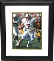 Toby Gerhart signed Stanford Cardinal 8x10 Photo Custom Framed - $78.95