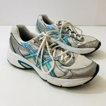 ASICS Gel-Impression 3 Womens Running Shoes Sneakers White/Blue TOJ7N Si... - $27.58