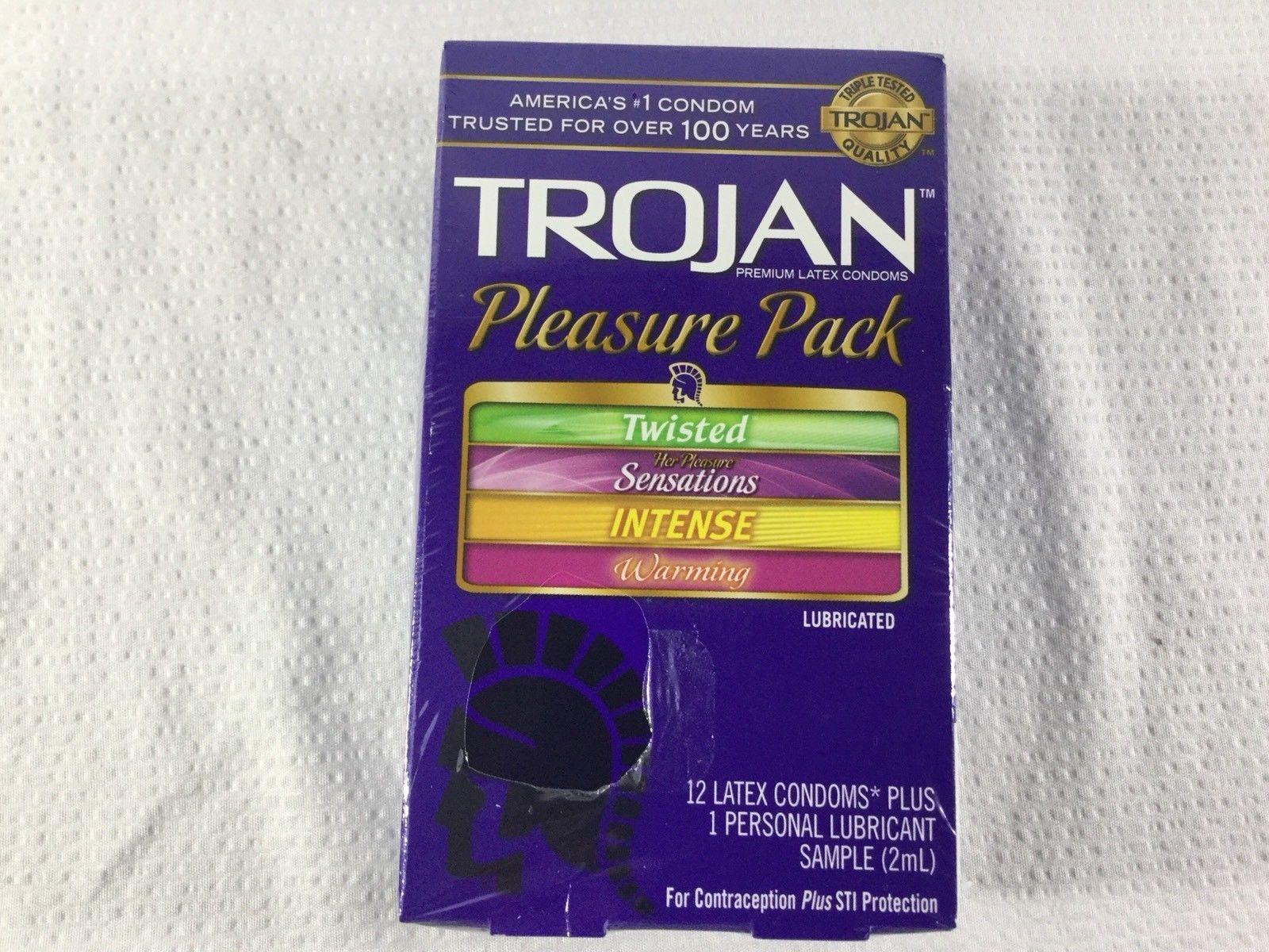 Free: 2 trojan ecstasy sample pack condoms other listia. Com.