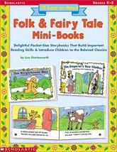 15 Easy-to-Read Folk & Fairy Tale Mini-Books: Delightful Pocket-Size Sto... - $2.97