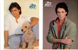 Rick Springfield John Stamos teen magazine pinup clippings Tiger Beat Full House