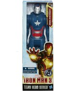 "Marvel Iron Man 3 Titan Hero Series Avengers Initiative Iron Patriot 12""  - $16.82"