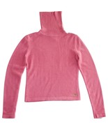 Christian Dior Pink Cashmere Knit Turtleneck Jumper  - $325.00