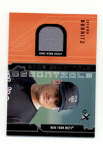 2002 Fleer E-X Game Essentials #5 Jeromy Burnitz NM-MT MEM New York Mets - $4.99