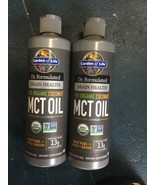 2 Pack Garden of Life Dr. Formulated Brain Health Org Coconut MCT Oil 16... - $24.19