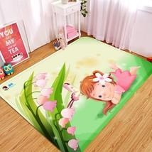 3D Girl Lawn 33 Non Slip Rug Mat Room Mat Quality Elegant Photo Carpet UK Summer - $106.68+