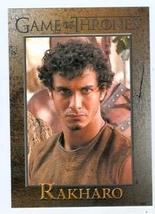 Game of Thrones trading card #65 2012 Rakharo - $4.00