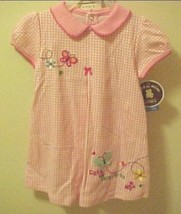 Girls 24 Month Summer Dress & Panties S Carters Pink White Check - $12.82