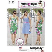 Simplicity Creative Patterns 8123 Misses' and Plus Size Dresses from Mimi G Styl - $13.48