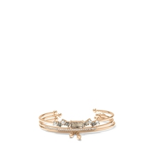 Vince Camuto Rhinestone 3PC Bracelet Set Rose Gold   - $45.00