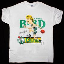 Larry Bird Shirt Vintage tshirt 1980s Boston Celtics  t-shirt gildan rep... - $21.99+