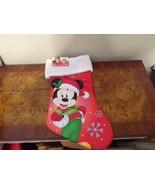 Disney Mickey Mouse Christmas Stocking  NWT - $12.99