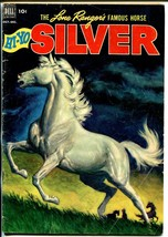 Lone Rangers Famous Horse Hi-Yo Silver-#4 1952-Dell-painted cover-VG+ - $50.44