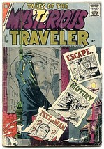 Tales of The Mysterious Traveler #4 1957- Steve Ditko horror VG - $151.32