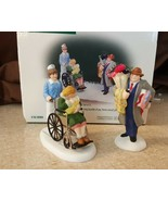 Dept 56 Christmas In The City Accessory 1999 BRINGING HOME THE BABY 2 Pc... - $19.95